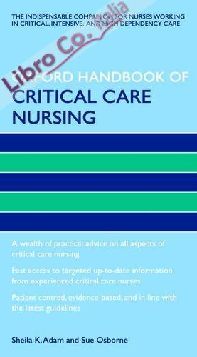 Oxford Handbook of Critical Care Nursing.