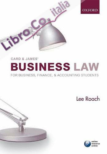 Card and James' Business Law for Business, Accounting, and F.