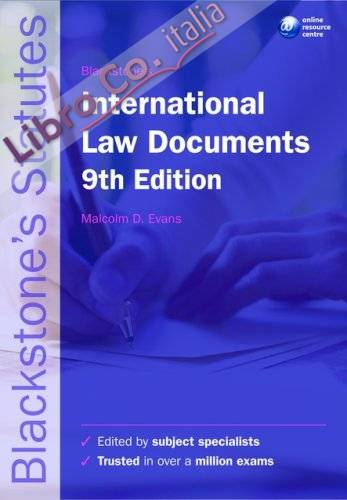 Blackstone's International Law Documents.