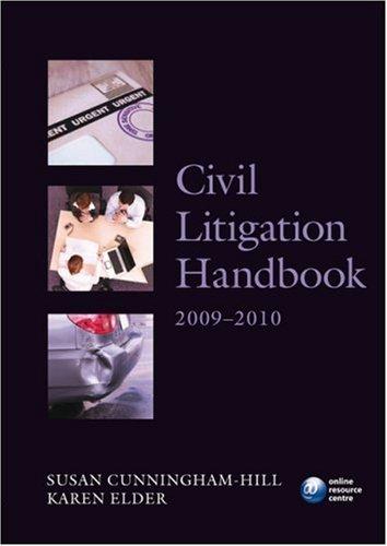 Civil Litigation Handbook 2009-2010.
