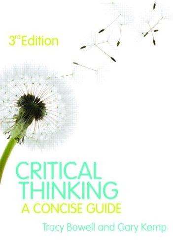 Critical Thinking.