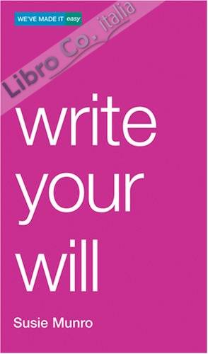 Write Your Will.