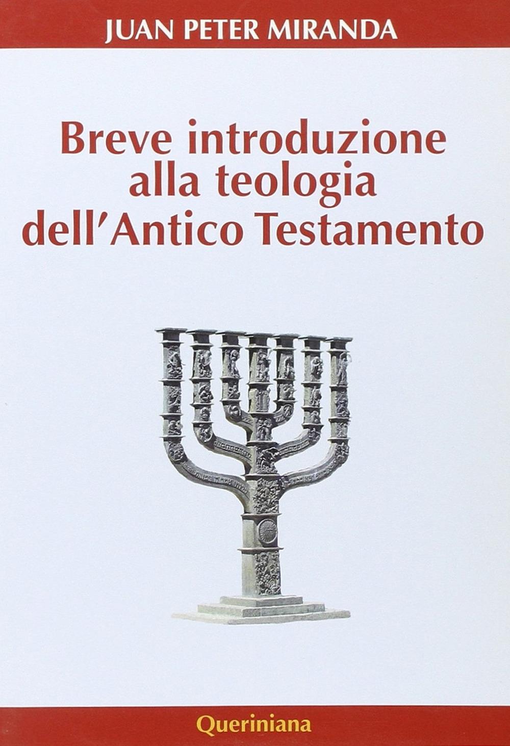 Breve introduzione alla teologia dell'Antico Testamento.