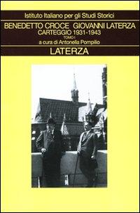 Carteggio. Vol. 4: 1931-1943