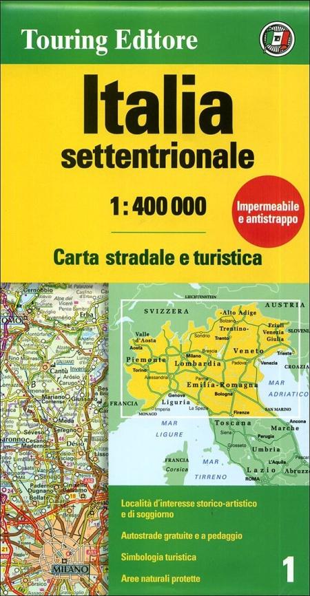 Italia settentrionale 1:400.000