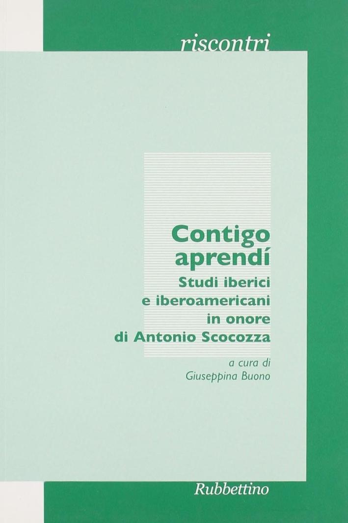 Contigo Aprendì. Studi Iberici e Iberoamericani in Onore di Antonio Scocozza