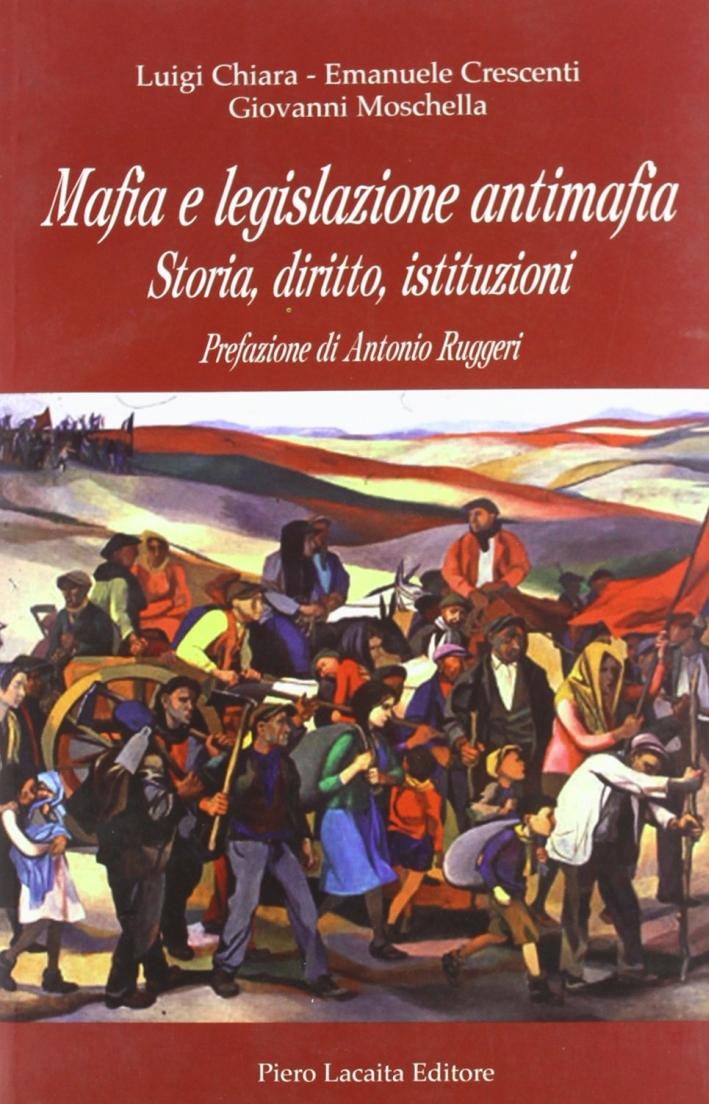 Mafia e legislazione antimafia