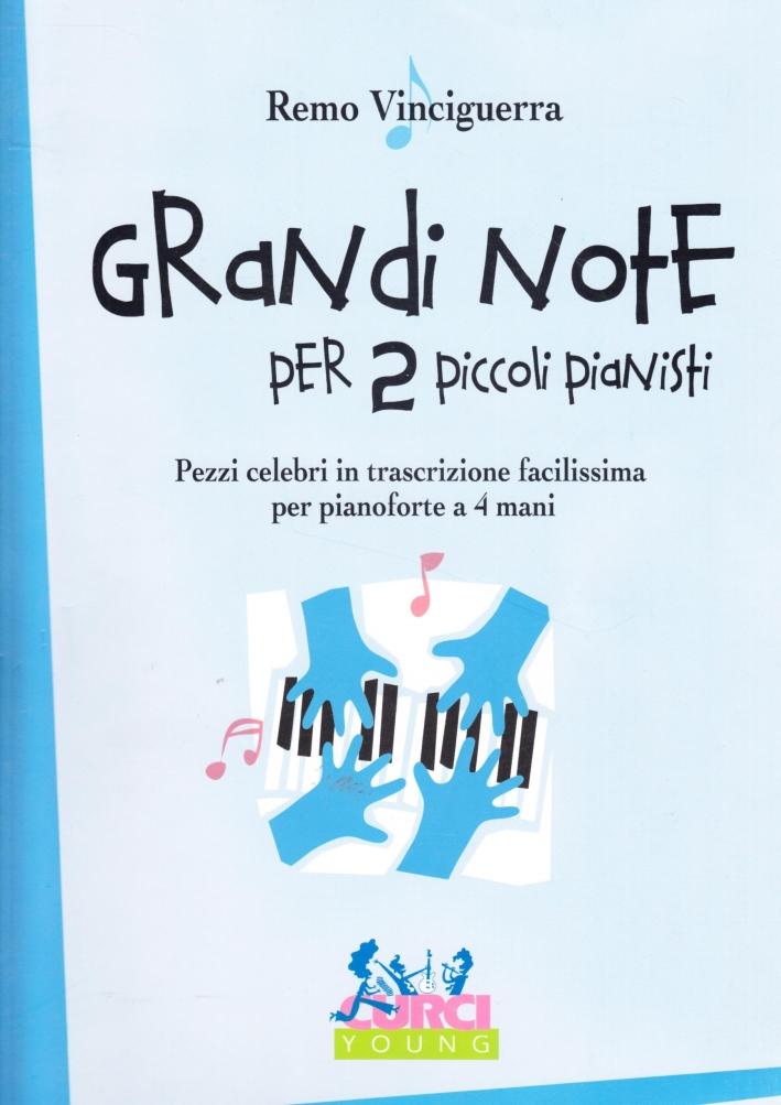 Grandi note per due piccoli pianisti