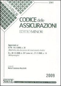 Codice delle assicurazioni. Ediz. minore