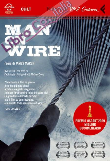 Man on Wire. DVD. con Libro