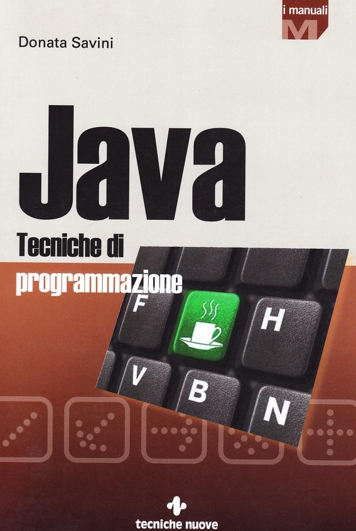 Java. Tecniche di programmazione.