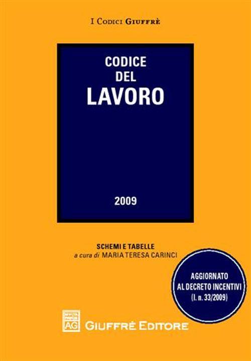 Codice del lavoro 2009