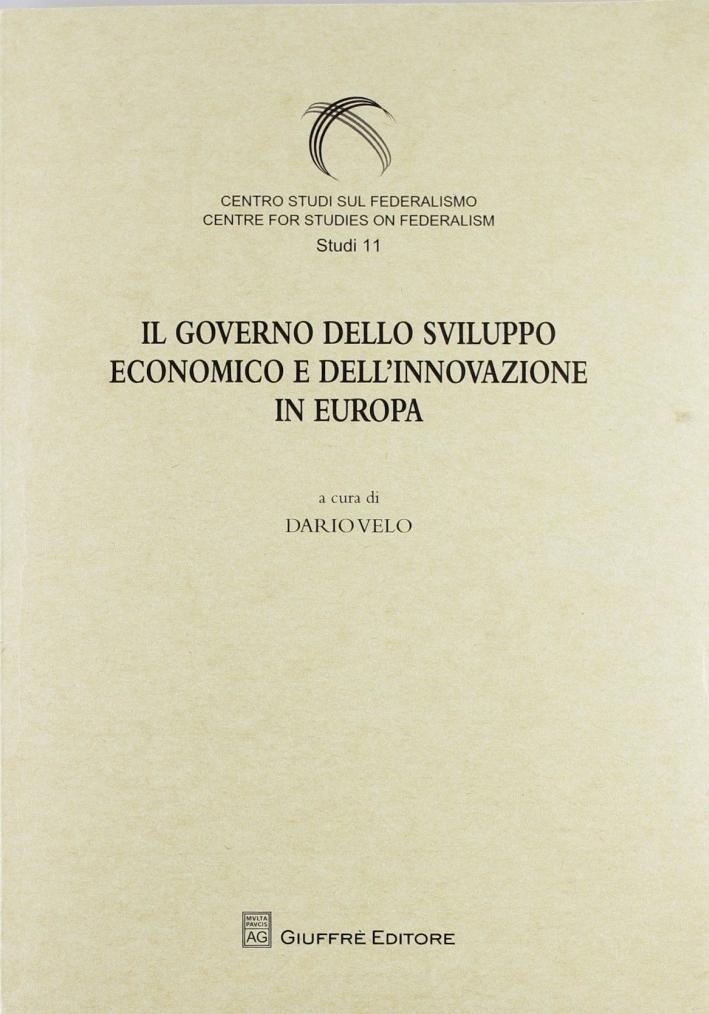 Il governo dello sviluppo economico e dell'innovazione in Europa