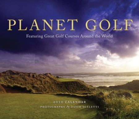 Planet Golf  2010 Wall Calendar