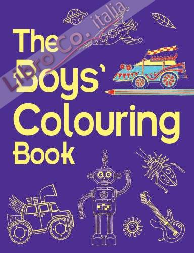 Boys' Colouring Book