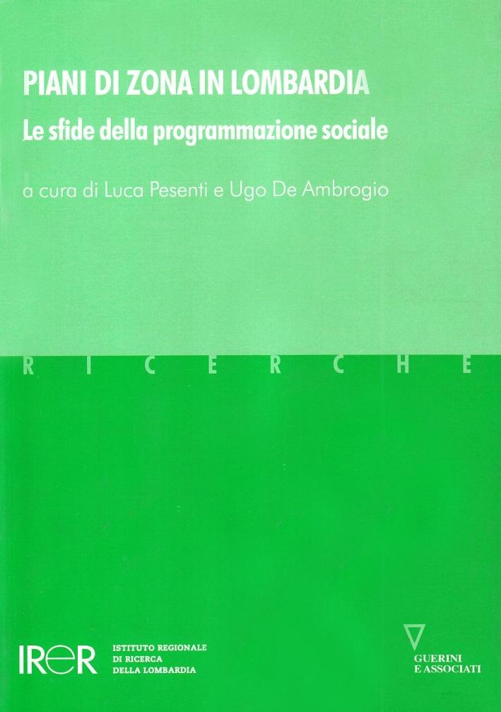 Piani di zona in Lombardia. Le sfide della programmazione sociale