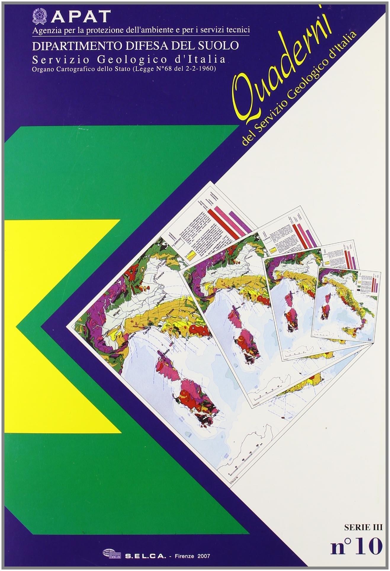 Carta geomorfologica d'Italia 1:50.000. Guida alla rappresentazione cartografica