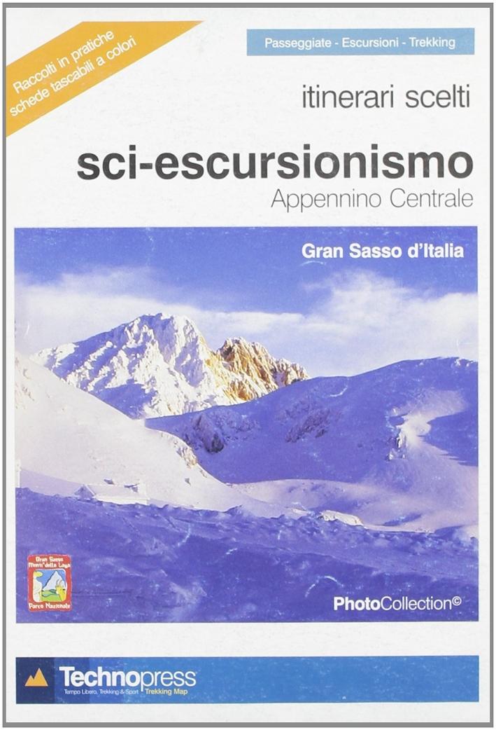 Itinerari scelti sci escursionismo appennino Centrale