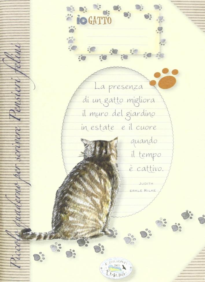 Piccolo Quaderno per Scrivere Pensieri. Felini