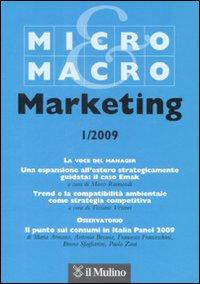 Micro & Macro Marketing (2009). Vol. 1