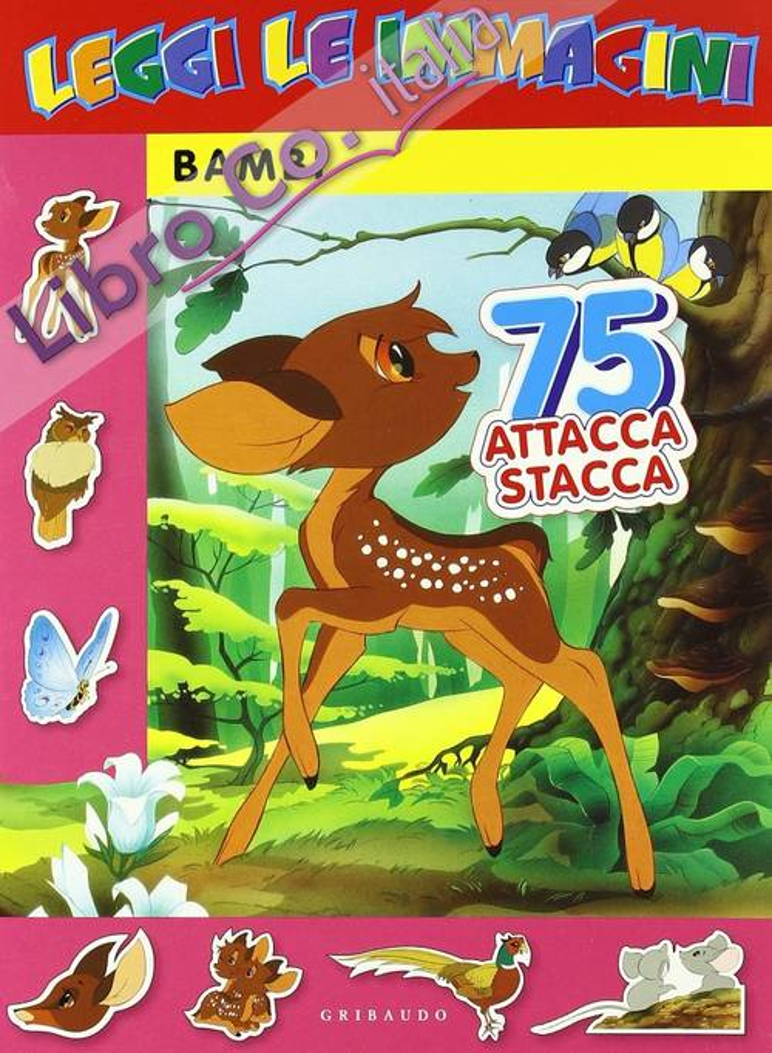 Bambi. Leggi le Immagini. con Adesivi.