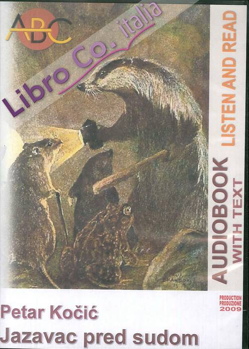 Jazavac pred sudom. Audiolibro. CD Audio e CD-ROM. N.cat. 02/007