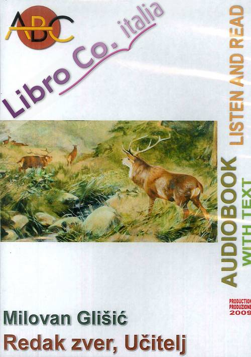 Redak zver, ucitelj. Audiolibro. CD Audio e CD-ROM