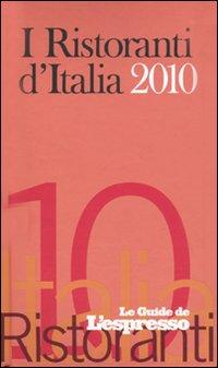 I ristoranti d'Italia 2010