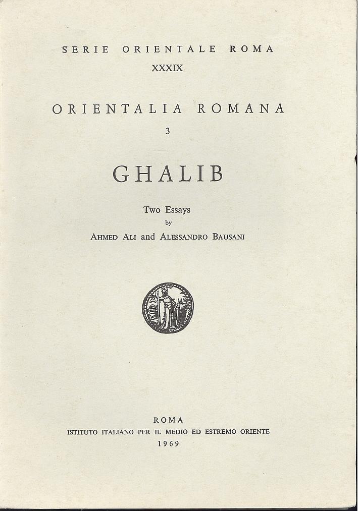 Orientalia Romana. Vol. 3: Ghalib.