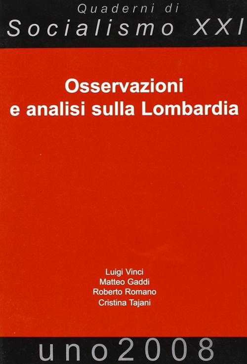 Osservazioni e analisi sulla Lombardia