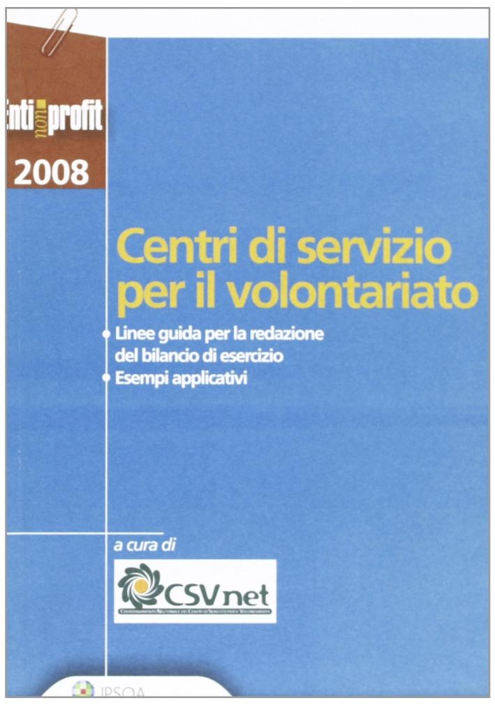 Centri di servizio per il volontariato