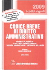 Codice Breve di Diritto Amministrativo.