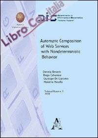 Automatic composition of web services with nondeterministic behavior