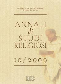Annali di studi religiosi (2009). Vol. 10
