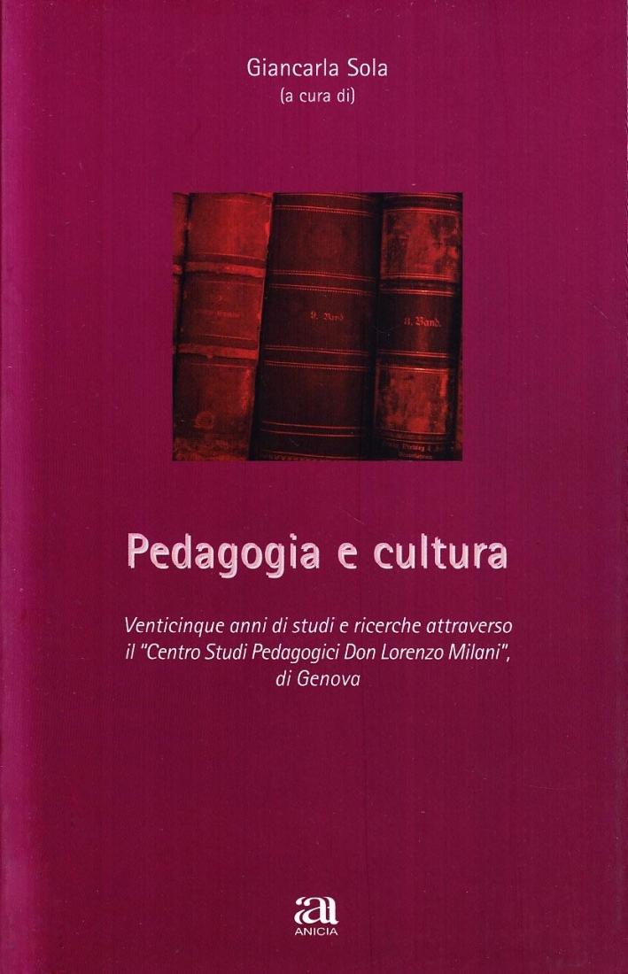 Pedagogia e cultura.
