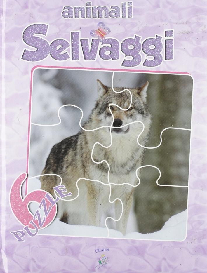 Amici animali: A-B-C-D-E-F. Libro-Puzzle.
