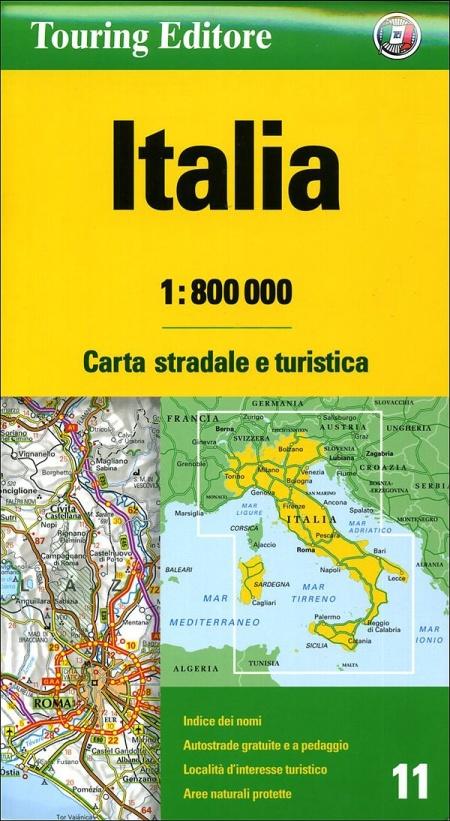 Italia 1:800.000. Ediz. illustrata