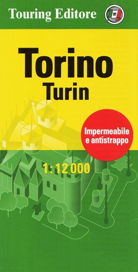 Torino-Turin 1:12.000. Ediz. bilingue