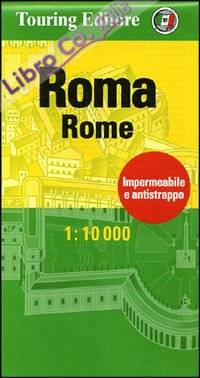 Roma-Rome 1:10.000. Ediz. bilingue