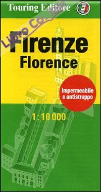 Firenze-Florence 1:10.000. Ediz. bilingue