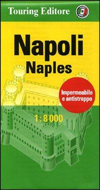 Napoli-Naples 1:8.000. Ediz. bilingue