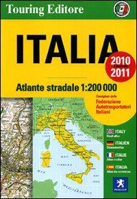 Atlante Stradale Italia 1:200.000 2010-2011