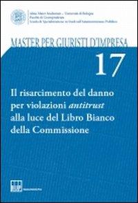 Il risarcimento del danno per violazioni antitrust alla luce del Libro Bianco della Commissione
