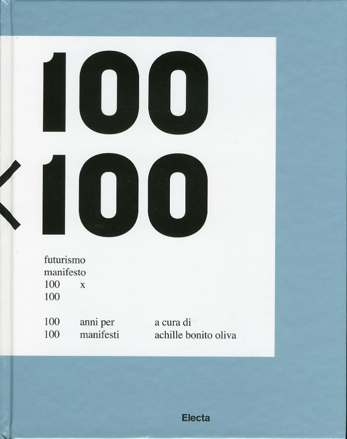 Futurismo Manifesto 100x100. 100 anni per 100 manifesti.
