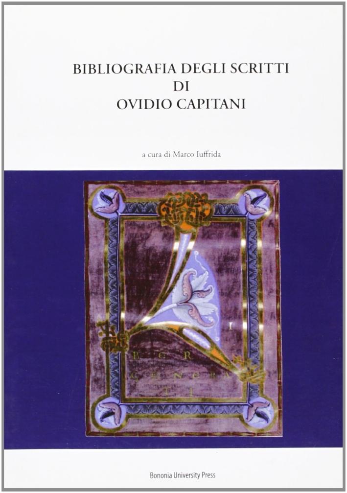 Bibliografia degli scritti di Ovidio Capitani