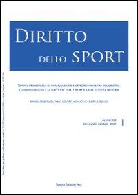 Diritto dello sport (2009). Vol. 1