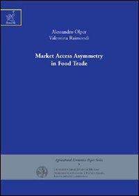 Market access asymmetry in food trade.