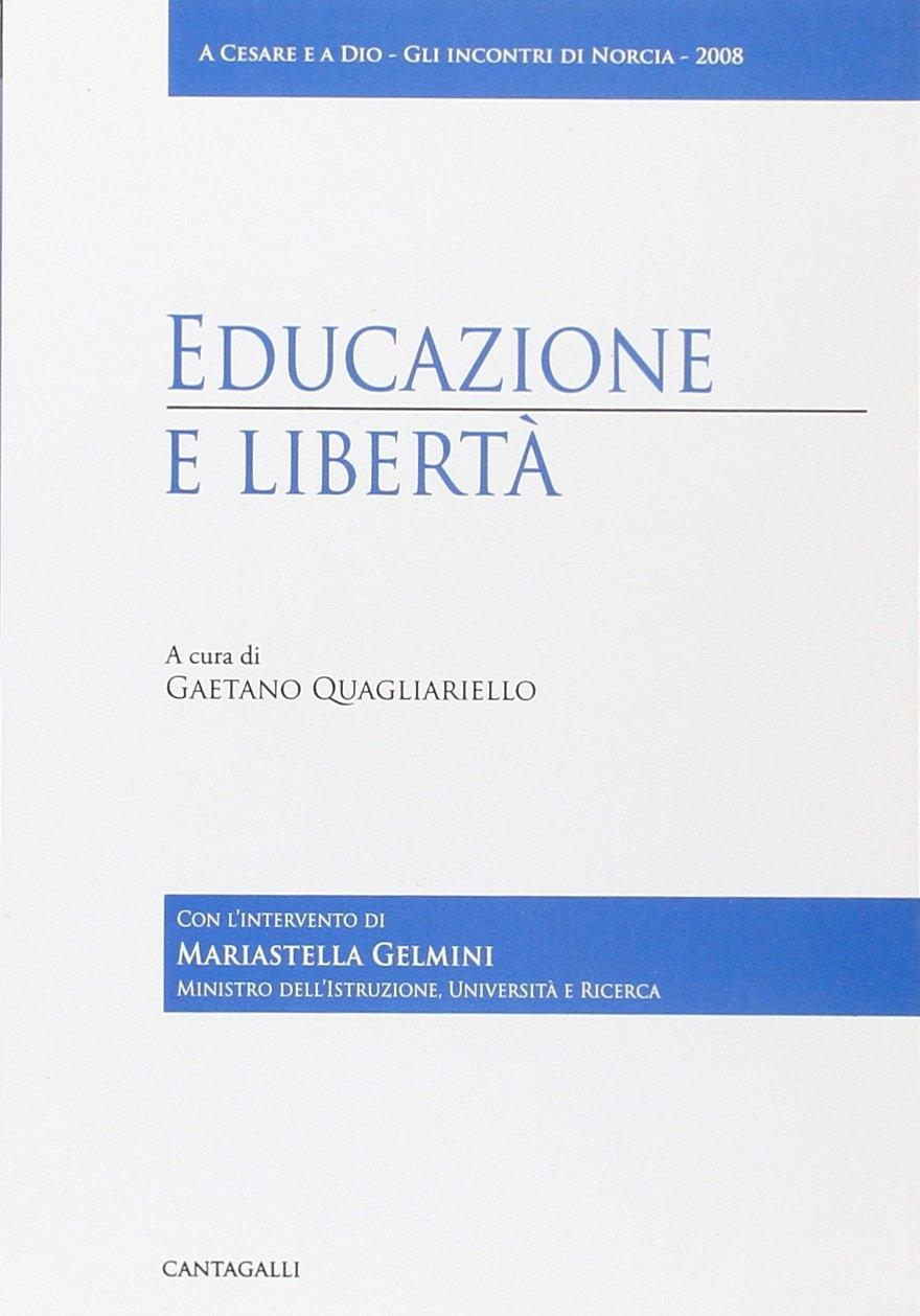 Educazione e libertà.
