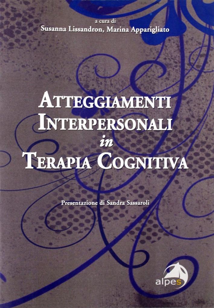 Atteggiamenti interpersonale in terapia cognitiva