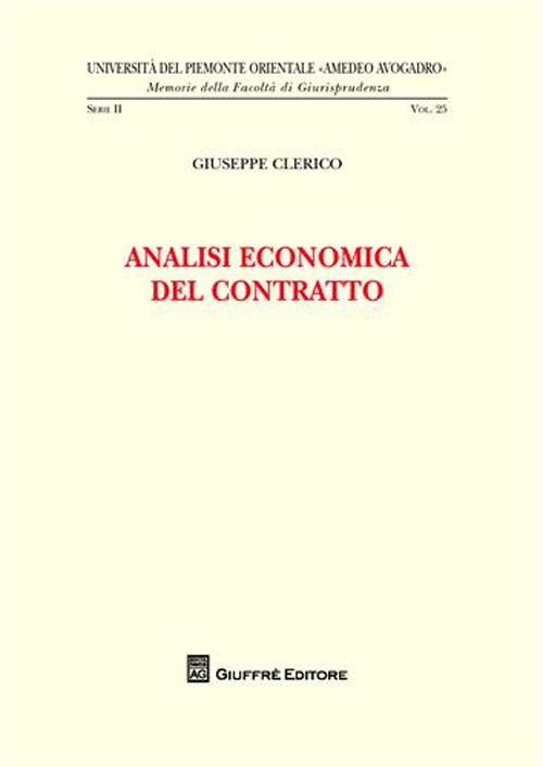 Teoria economica e produzione sanitaria.
